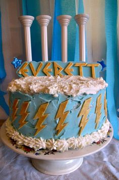 Sweet Lavender Bake Shoppe: happy first birthday little Everett! Happy First Birthday, 11th Birthday, Birthday Bash, First Birthdays, Birthday Parties, Birthday Ideas, Percy Jackson Birthday, Percy Jackson Party, Toga Party