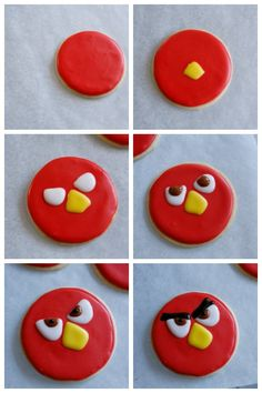 Jordan's Onion: Angry Birds Viewing Party - make Red sugar cookies for your Angry Birds viewing party with this cookie tutorial #AngryForSavings #ad