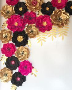 546 отметок «Нравится», 12 комментариев —  paper flower BACKDROPS  (@sydneypaperflowers) в Instagram: «Kate Spade inspired backdrop  Corner  or arch? »