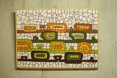Buds - mosaic - ceramic tiles Bud, Tiles, Mosaic, Ceramics, House, Wall Tiles, Ceramica, Home, Ceramic Art