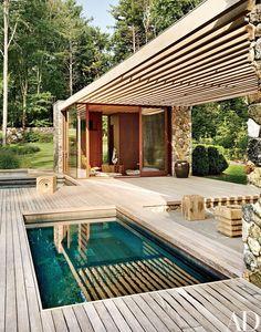 Splash pool #modernpoolcabana #modernpoolbeverlyhills