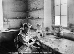Titanic - Belleek Pottery. Applied floral decoration on Belleek China, Belleek Potteries.