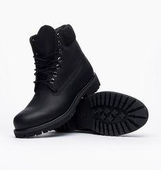 buy online b7526 22adc caliroots.se 6 Inch Premium Boot Timberland C10054 All Black Leather!  128830 Timberland Stövlar