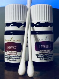 Take clean Q-Tip add 2 drops pure thieves oil and 2 drops pure lavender oil. Let soak for 30 seconds. Place Q-Tip directly on canker sore. Be sure to tilt your head back so saliva does not soak up into the cotton. Leave on for a few mins. My pain and inflammation was gone in a matter of mins. Repeat a few times a day especially after eating. Young Living essential oils is what I used and would be the only oils I would trust putting in my mouth. You will thank me later. #EssentialOilBlends