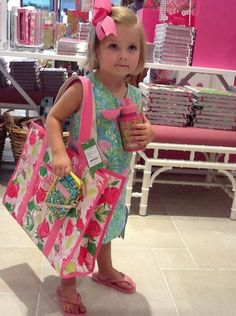 Future Sorority Girl...Love the Lilly Prints