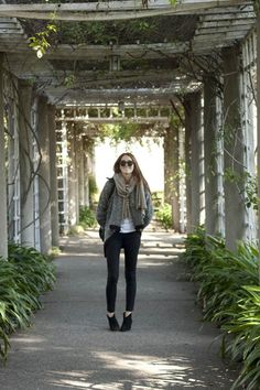 Samantha from Could I Have That? wearing Goldsign jeans