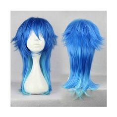 Dramatical Murder DMMD Aoba Seragaki Anime Cosplay Costume Wig+ Free... ❤ liked on Polyvore featuring costumes, cosplay, costume, wig, wigs costume, animal costumes, blue costume, blue halloween costume and cosplay costumes