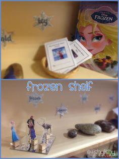New small world shelves - Frozen