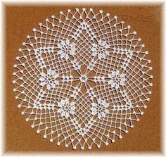 P lace round crochet Free Crochet Doily Patterns, Crochet Doily Diagram, Crochet Borders, Crochet Chart, Filet Crochet, Baby Knitting Patterns, Crochet Motif, Knit Crochet, Unique Crochet