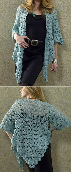 DIY Crochet Lace Jacket Pattern Ideas | The WHOot