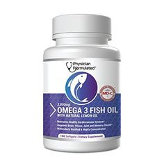 Fish Oil Omega 3 3000mg per serving - 915mg EPA, 630mg DHA, 2000mg Total Omega 3 6 9 XL - 180 Capsules Physician Formulated by Physician Formulated, http://www.amazon.com/dp/B071P9Q7FC/ref=cm_sw_r_pi_dp_.3oZzbFFF9HSV