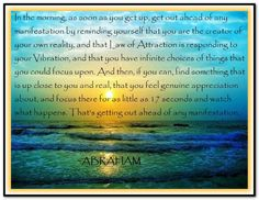 *Abraham-Hicks Quotes (AHQ833)