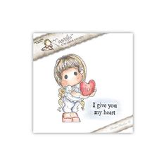 Magnolia - Lovely Duo 2015 - I give you my heart Tilda Duo www.papercrafts.ch