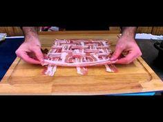 """Die """"Bacon-Bomb"""" (oder auch als """"Bacon Explosion"""" bekannt) ist ein relativ neues BBQ-Gericht. Zwei Jungs von dem Burnt Fingers BBQ-Team haben es sich ausgedacht. In dem ursprünglichen Rezept von Jason und Aaron wird italienische Wurst verwendet, anstatt Hackfleisch, was ich … Continue reading →"""