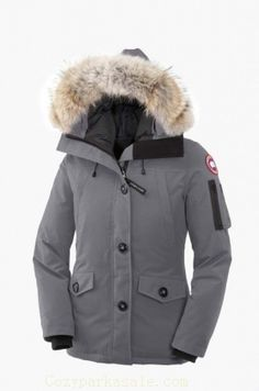 Canada Goose Montebello Parka Women Midgrey With Fast Delivery - $279
