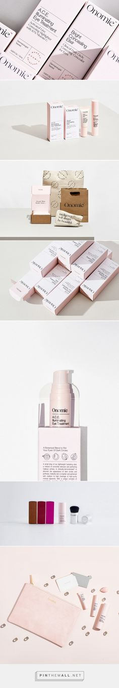 With Adorable Pink Packaging Onomie Beauty Is Here To Stand Out — The Dieline   Packaging & Branding Design & Innovation News - created via https://pinthemall.net