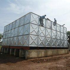 Galvanized Water Tank, Galvanized Steel, Steel Water Tanks, Louvre, Building, Travel, Viajes, Buildings, Destinations