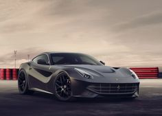 The Ferrari Berlinetta was unveiled at the 2012 Geneva Motor Show . The car is a front mid engine grand tourer and is a replacement for the Ferrari Bmw Supercar, Ferrari Berlinetta, Exotic Sports Cars, Car Engine, Love Car, Black Wallpaper, Corvette, Cars Motorcycles, Cool Cars