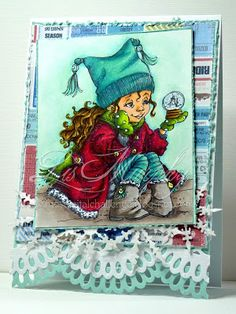 mycraftblogumentary: Mo's Clubhouse Inspiration- Wishing for snow.