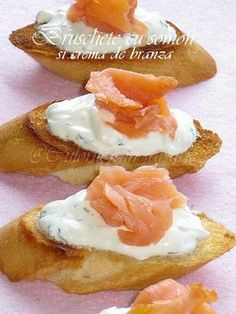 Pesto Dip, Bruchetta, Romanian Food, Savory Breakfast, Dessert Recipes, Desserts, Deli, Food Art, Seafood