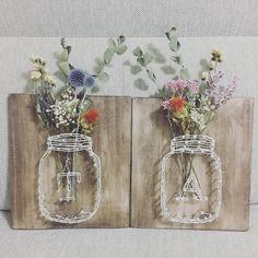 結婚式の受付サインの手作りデザインまとめ | marry[マリー] Dried Flower Bouquet, Dried Flowers, Wedding Crafts, Diy Wedding, Homemade Gifts, Diy Gifts, Crazy Wedding, How To Preserve Flowers, Creative Decor