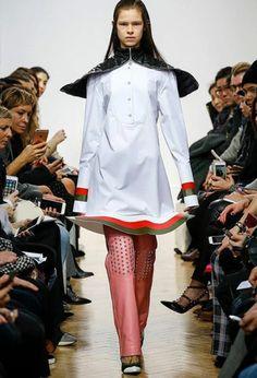 J W Anderson fashion week 2016 dress London