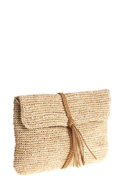 Braid Tassle Clutch Calapyso St. Barth
