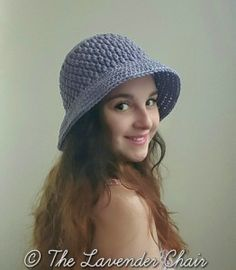 Brickwork Summer Sun Hat - Free Crochet Pattern - The Lavender Chair