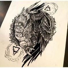 Tattoo-Journal.com - THE NEW WAY TO  DESIGN YOUR BODY | 55 Inspiring Raven Tattoo Designs | http://tattoo-journal.com