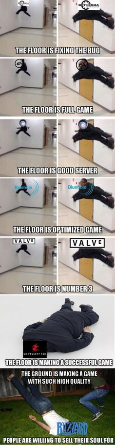 Video Game Memes : 10 Funny Pictures Of Today Funny Gaming Memes, Gamer Humor, Stupid Funny Memes, Video Game Logic, Video Games Funny, Funny Games, Best Memes, Dankest Memes, Jokes