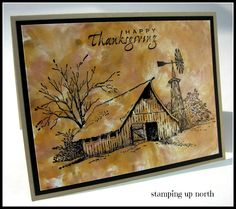 Happy Thanksgiving - stamping up north
