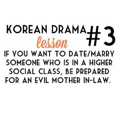 Kdrama, seems to be a rule or somethin'