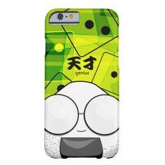 Nerd Japanese Manga Onigiri iPhone 6 Case