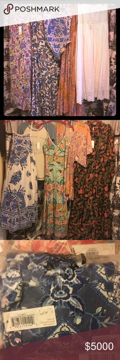 ISO List for Spell NWTs All NWTs. Trade or if you'd like me to list, let me know!   ISO List: Gypsy Queen  Festival Fox Tank Wild Horse Cami Blush Babushka Cami Folktown Navy Peyote gown Sunset Road Frill Tallulah Coat GQ Castaway XS C&H Raglan for S? Vintage Spell SCF Pamela Dress denim or stripe SCF Florence Blouse porcelain SCF Jade Skirt white Chaser tees Privacy Please bodysuits Auguste dresses Arnhem dresses Reformation Isabella & Anne dress Spell & The Gypsy Collective Dresses Maxi