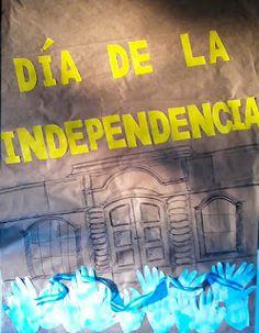 9 de Julio: Ideas para carteleras | Mi Sala Amarilla Ale, Neon Signs, Activities, Education, School, Crochet, Mariana, Alphabet, Kids Bible Crafts