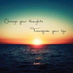 If you want to change anything in your life, change the frequency by changing your thoughts. www.thesecret.tv