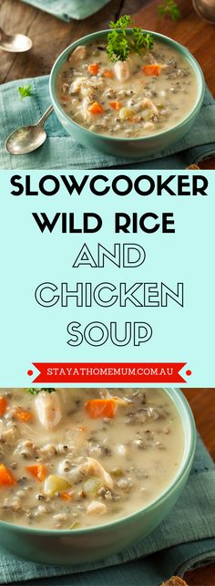 When it comes to family-friendly dinners, it doesn't get much better than this Wild Rice And Chicken Soup.