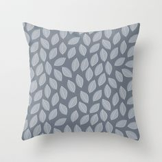 Falling Leaves Throw Pillow by Southernemma - $20.00