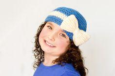 Cutie Pie Beanie Crochet Pattern via Hopeful Honey  Betsy?