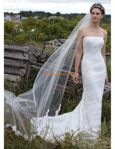 Romantisch Meerjungfrau Brautkleider 2014 aus Spitze