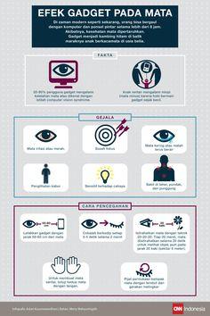 Cara Mencegah Mata Minus Bagi si Pecandu Gadget