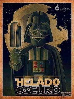 Darth Vader - ilustración Comíca #ilustración #Humor #dibujo