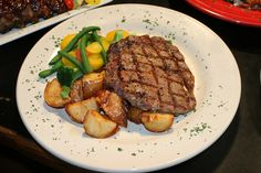 We're sear-ious about our steaks. Our Mt Clemens location cuts them fresh by the ounce daily.