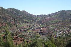 Bergfrühling im Februar im Hohen Atlas, nahe von Demnate, Marokko Grand Canyon, Nature, Travel, Mountain Range, February, Morocco, Hiking, Viajes, Naturaleza