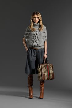 Gucci Pre-Fall 2011 Collection Slideshow on Style.com