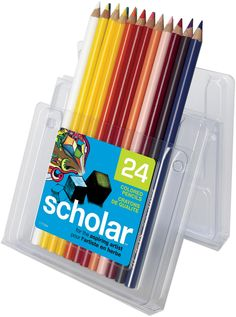 Prismacolor Scholar Colored Pencils 24 Pkg-