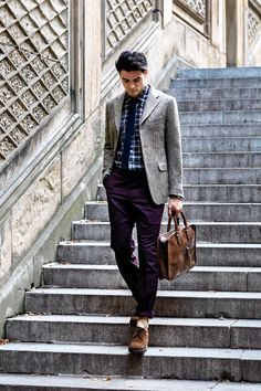 A Studied Look: Fall Menswear's Professorial Style Designers like Brunello Cucinelli and Bottega Veneta's Tomas Maier have sharpened up the tweedy, shambolic elements of academic get-ups