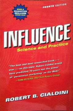Influence: Science and Practice Edition) by Cialdini, Robert B. Robert Cialdini, Social Proof, Consumer Behaviour, Books To Read Online, Online Library, Human Behavior, Science Books, Great Books, Psychology