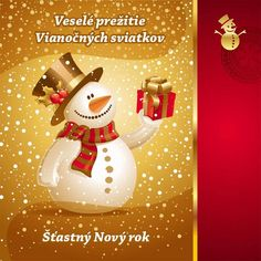 Buy Christmas Design - Snowman With Gift by Sergo on GraphicRiver. Christmas Design – Snowman With Gift: File contains gradients. Christmas Design, Christmas Snowman, Christmas Bulbs, Vector Christmas, Snowman Photos, Holiday Images, Holly Berries, Tealight Candle Holders, Christmas Photo Cards