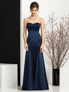 How to choose the right dresses for your bridesmaids (this style but red or neutral)
